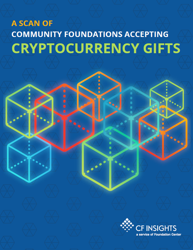 A Scan of Community Foundations Accepting Cryptocurrency Gifts