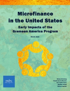 Microfinance in the United States: Early Impacts of the Grameen America Program